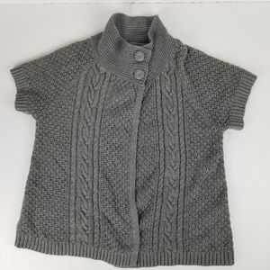 Sonoma short sleeve 2 button sweater size XL